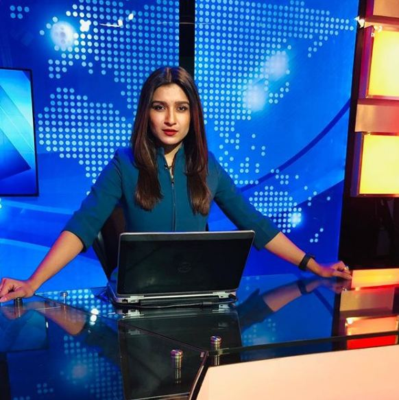 News Anchor Shefali Bagga