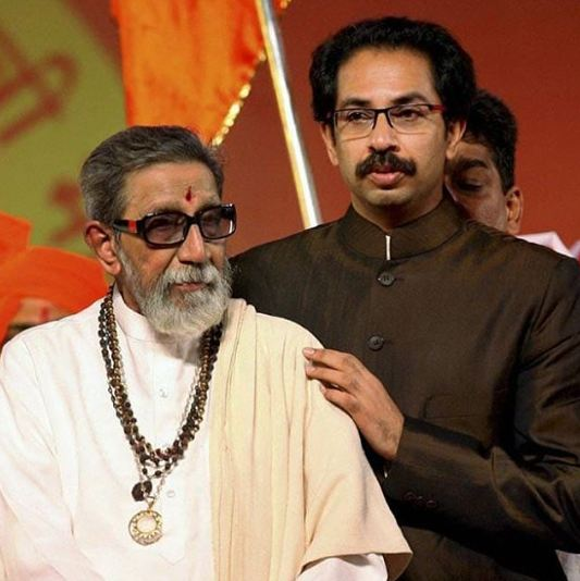 Uddhav Thackeray Father Bala Thackeray